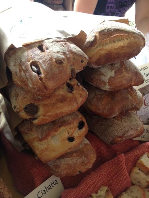 O Bakery's Olive Ciabatta