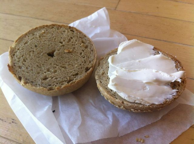 Gluten-free bagel?! We'll take it!